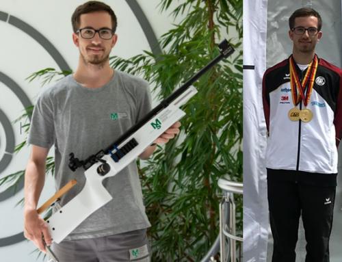 Wir gratulieren Dominik Hermle zum Deutschen Meistertitel im Target-Sprint