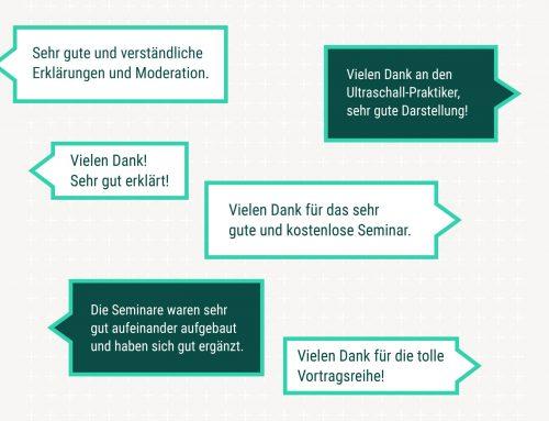 DANKE FÜR DIE POSITIVEN FEEDBACKS