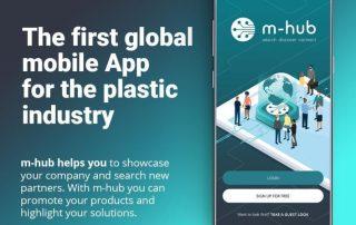 Mobile App m-hub, Kunststoffindustrie, Industrie 4.0 Industry 4.0